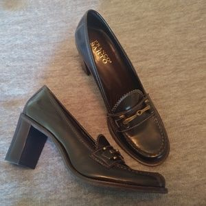 Franco Sarto Block Heel Loafer